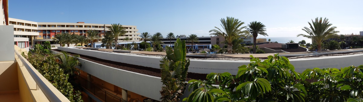 View from the hotel in Fuerteventura.