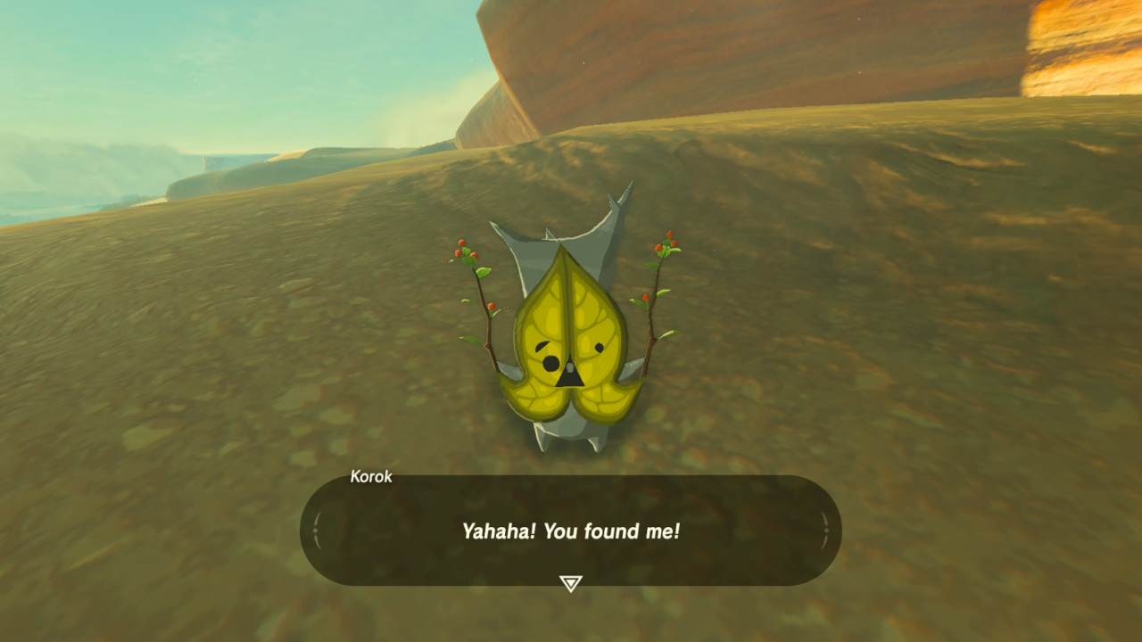 Korok are hidden everywhere around Hyrule