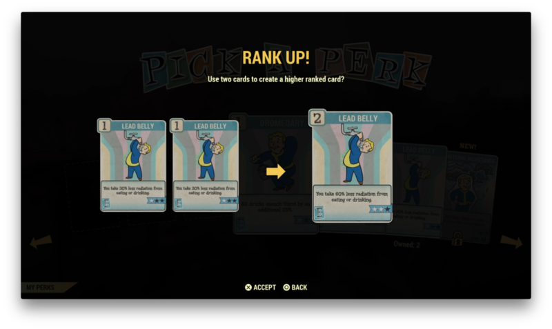 """Two cards which can be ranked-up"""